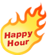 flame happy hour